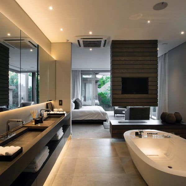 Recessed Ceiling Cans With Led Mirrr Cool Bathroom Lighting