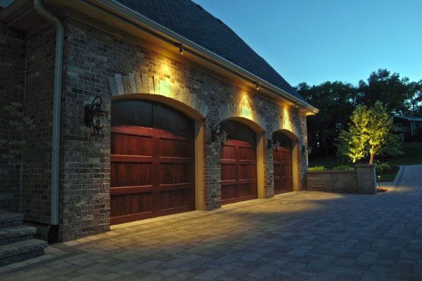 50 Outdoor Garage Lighting Ideas Exterior Illumination