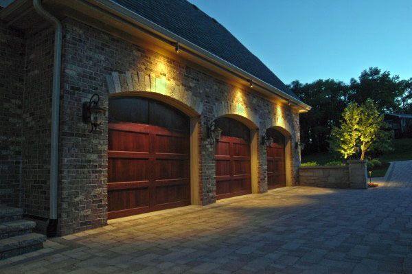 Recessed Downlight Outdoor Garage Lights