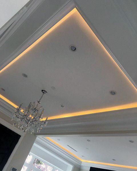 Recessed Led Trey Ceiling Ideas