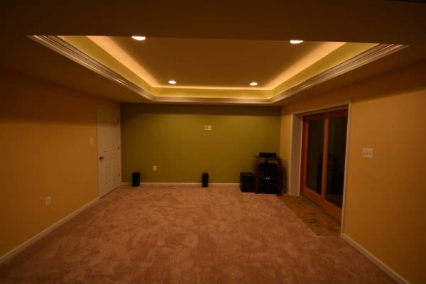 Lighting a basement Unfinished Basement Recessed Lighting In Basement Ideas Next Luxury Top 60 Best Basement Lighting Ideas Illuminated Interior Designs