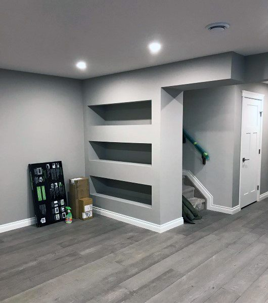 Recessed Wall Niche Ideas For Home Basement Storage