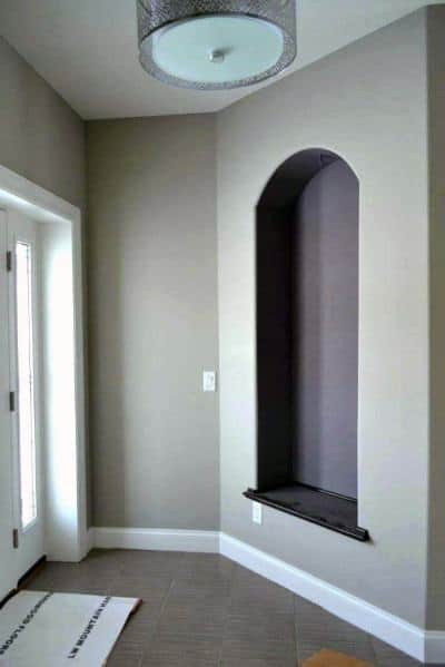 Recessed Wall Niche Interior Design Foyer