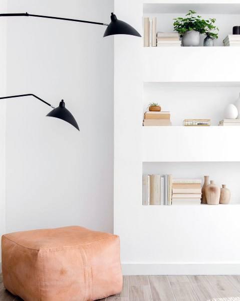 Recessed Wall Niche Interior Ideas