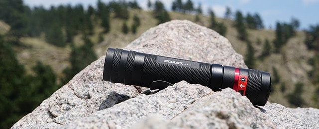 Rechargeable LED Coast P1XR Flashlight Review – Twist Focus Torch