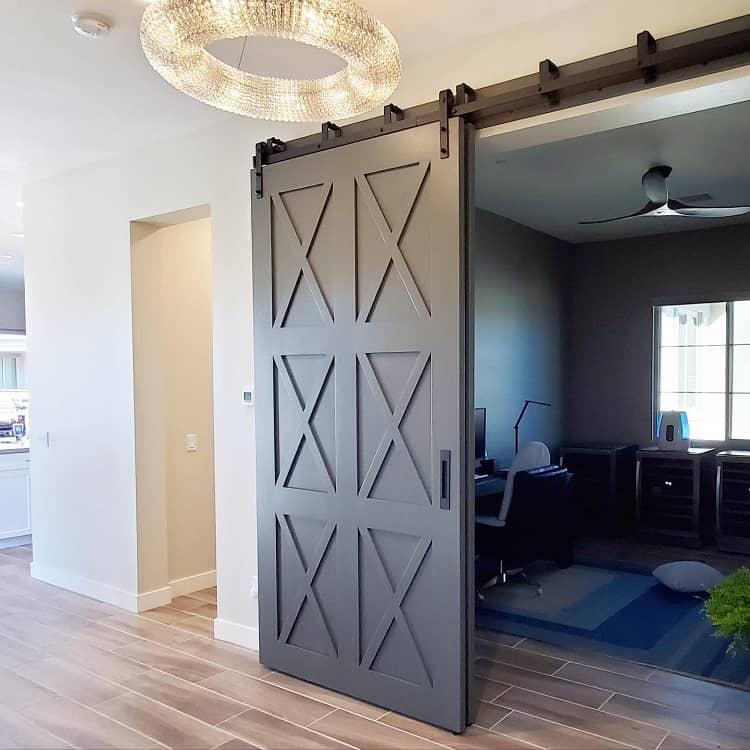Reclaimed Wood Modern Barn Door