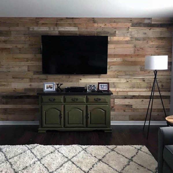Top 70 best wood wall ideas wooden accent interiors - Picture wall ideas for living room ...