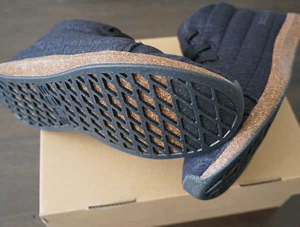 Recycled Cork Outsole Sole X United By Blue Jasper Wool Eco Chukka