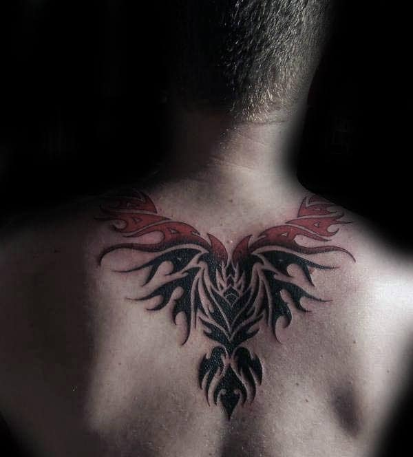 40 Tribal Phoenix Tattoo Designs For Men