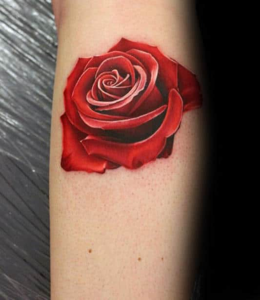 Rose Tattoos Flower: 90 Realistic Rose Tattoo Designs For Men