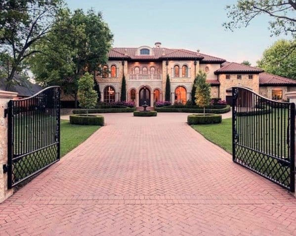 Red Brick Designs Driveway Landscaping