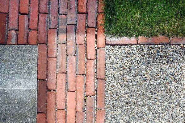 Red Brick Ideas Gravel Driveways
