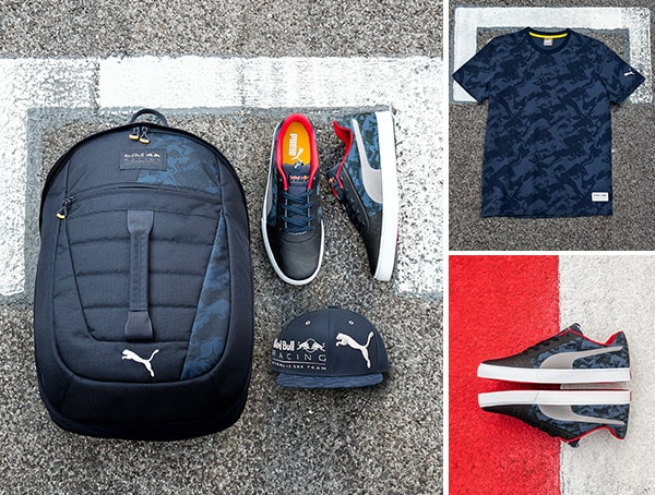 Red Bull Puma Replica And Lifestyle Team Collection