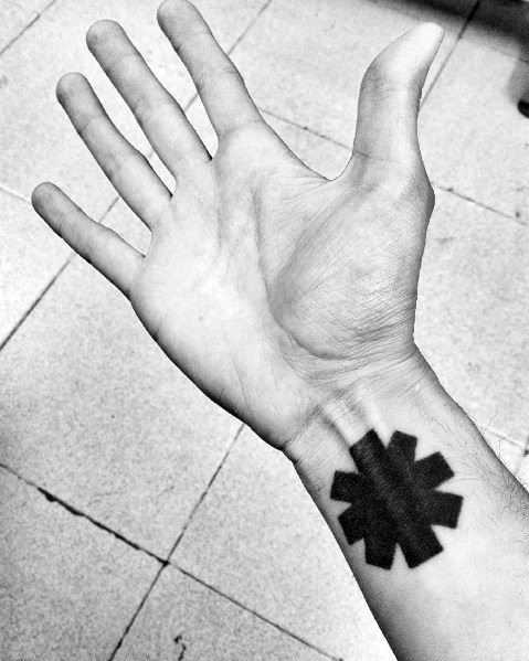 Red Hot Chili Peppers Male Tattoos