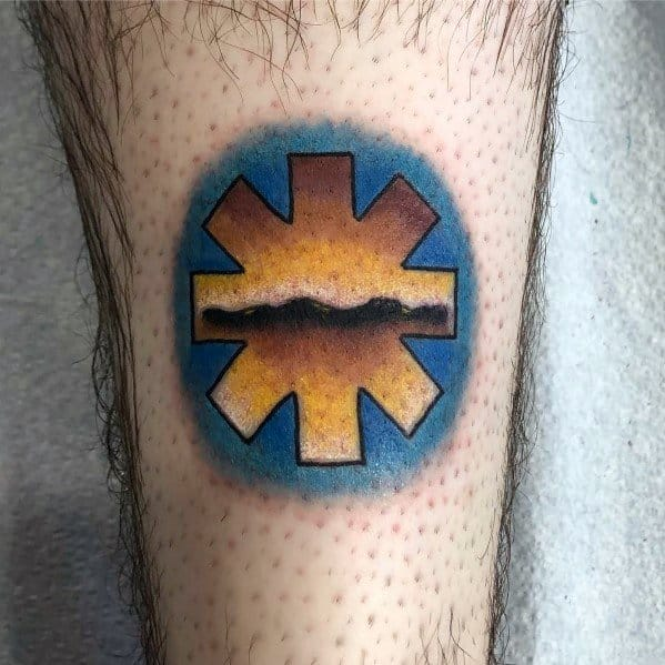 Red Hot Chili Peppers Mens Tattoos