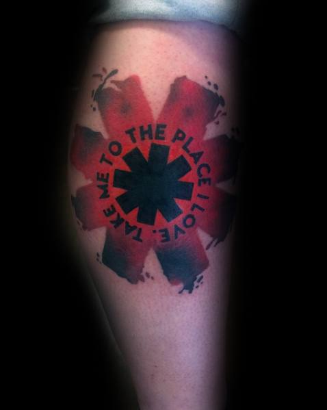 Red Hot Chili Peppers Tattoo Design Ideas For Men