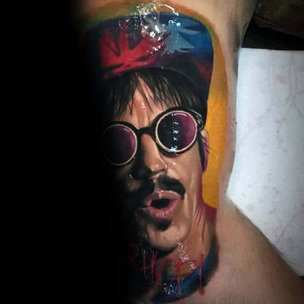 Red Hot Chili Peppers Tattoo Designs For Men