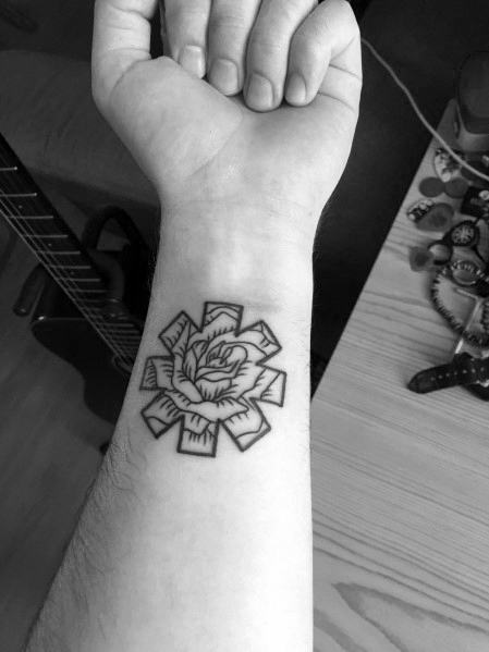 Red Hot Chili Peppers Tattoo For Guys