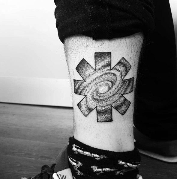 Red Hot Chili Peppers Tattoo For Men