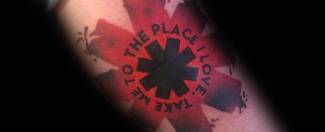Red Hot Chili Peppers Tattoo Ideas For Men