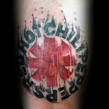 Red Hot Chili Peppers Themed Tattoo Ideas For Men