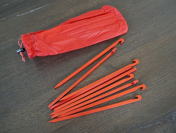 Red Msr Hubba Tour 3 Ground Stakes