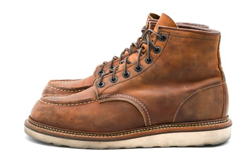 Red Wing Heritage 1907 Moc Toe 6 Inch Work Boots For Men