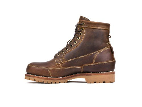 Red Wing Heritage Classic Moc Toe Leather Boots For Men