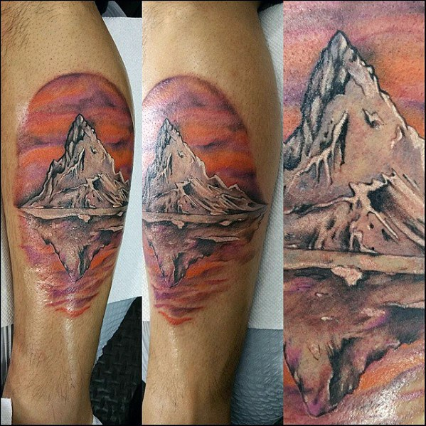 Reflection Tattoo Inspiration For Men