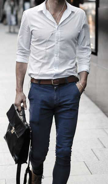 Relaxed Business Look Sharp Mens Casual Wear Styles