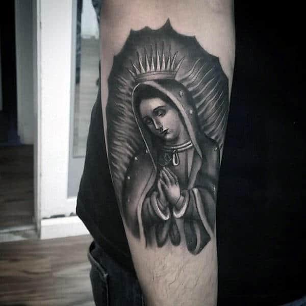 Tattoo Designs Mama Mary: 100 Religious Tattoos For Men