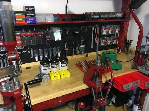 Top 60 Best Reloading Bench Ideas Room Designs