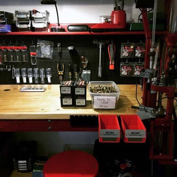 Reloading Bench Design Ideas