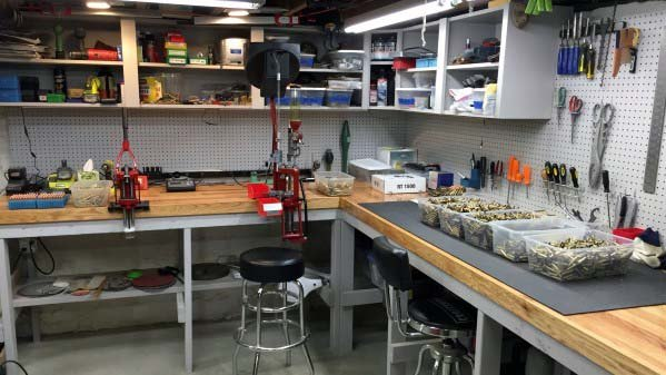 Reloading Bench Home Designs