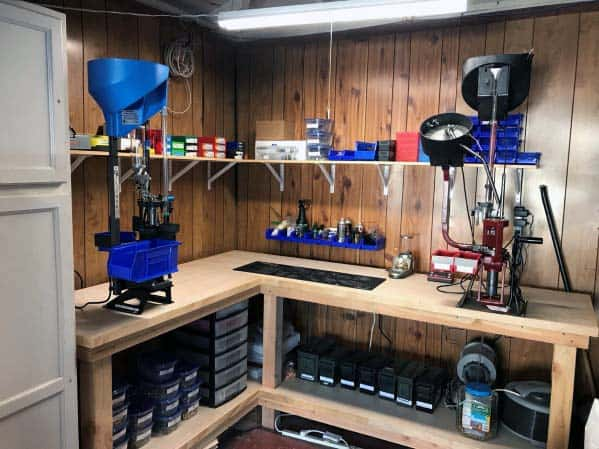 Reloading Bench Home Ideas