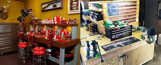 Top 60 Best Reloading Bench Ideas – Room Designs