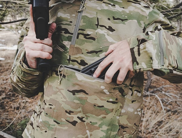 Reloading From Chest Pouch Otte Gear Overwatch Anorak Review