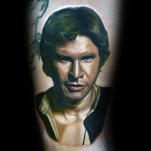 Remarkable Arm Han Solo Tattoos For Males