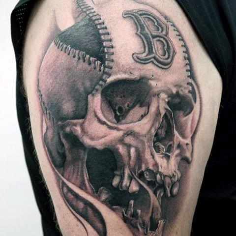 Remarkable Boston Red Sox Tattoos For Males