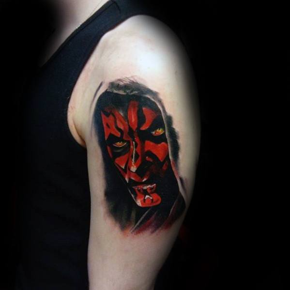Remarkable Darth Maul Tattoos For Males