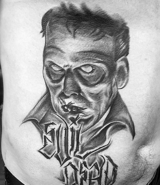 Remarkable Evil Dead Tattoos For Males