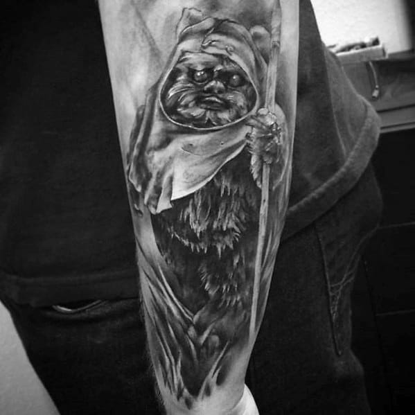 Remarkable Ewok Tattoos For Males