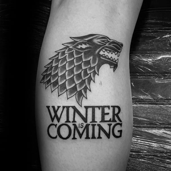 Remarkable Game Of Thrones Tattoos For Males