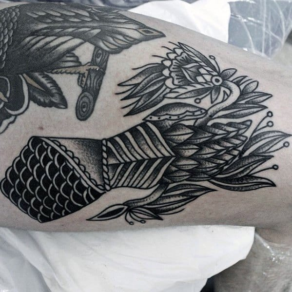 Remarkable Gauntlet Tattoos For Males