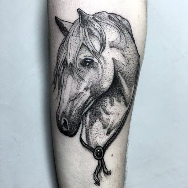 Remarkable Horse Tattoos For Males