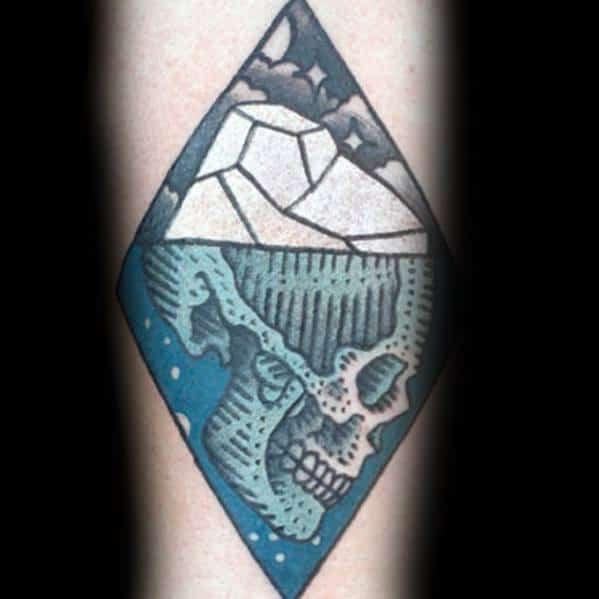 Remarkable Iceberg Tattoos For Males