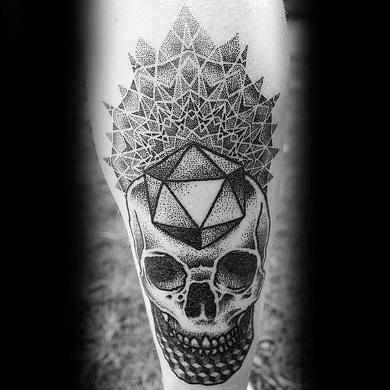 Remarkable Icosahedron Tattoos For Males