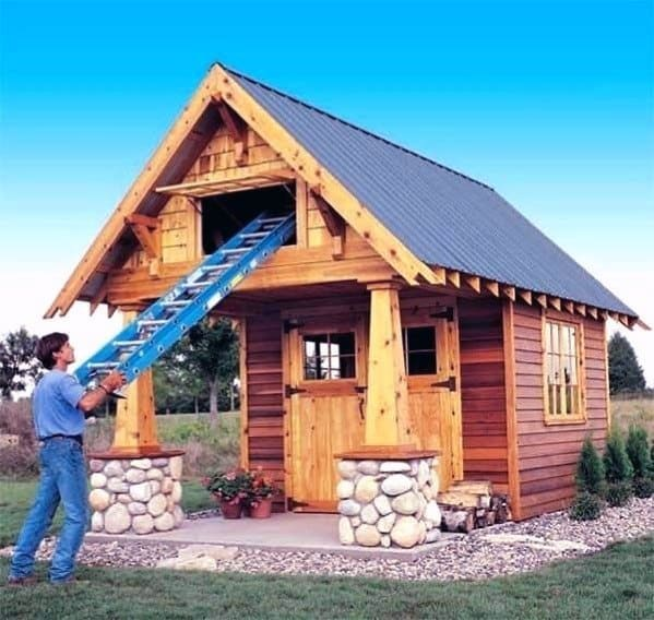 Remarkable Ideas For Backyard Shed