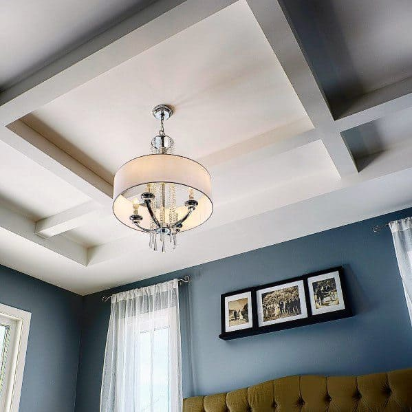Remarkable Ideas For Bedroom Coffered Ceiling
