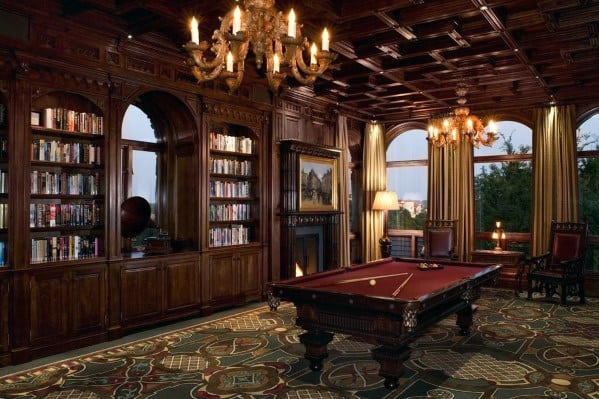 Remarkable Ideas For Billiards Room